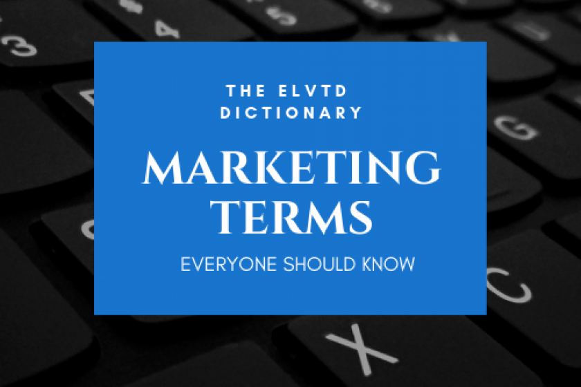 Marketing terms everyone should know